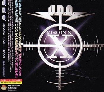 U.D.O. - Mission No. X (Japan Edition) (2005)