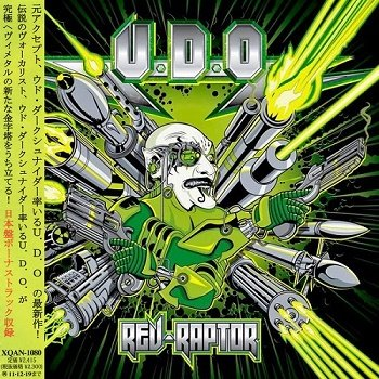 U.D.O. - Rev-Raptor (Japan Edition) (2011)