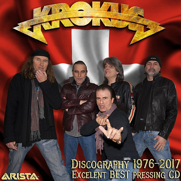 KROKUS «Discography» (24 x CD • 1st Press • 1976-2017)