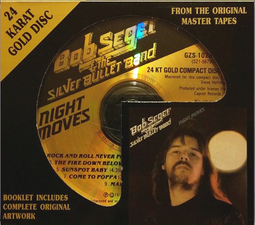 BOB SEGER & The Silver Bullet Band «Night Moves» (1976) (US 1992 DCC Compact Classics, Inc. • GZS-1028)
