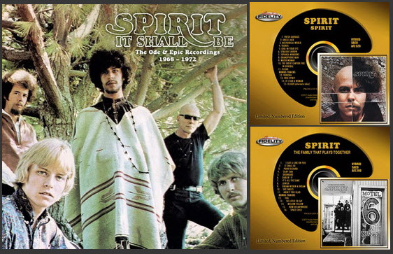 Spirit: Collection - 2 Albums: Hybrid SACD Audio Fidelity / 5CD Box Set Esoteric Recordings 2017/2018