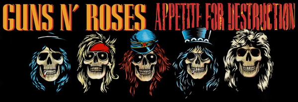 Guns N' Roses: 1987 Appetite For Destruction / 5-Disc Box Set Universal Music 2018