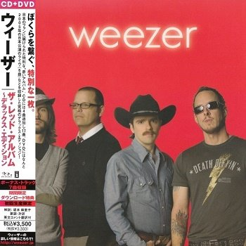 Weezer - Weezer [Red Album] (Japan Edition) (2008)
