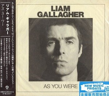Liam Gallagher - As You Were (Japan Edition) (2017)
