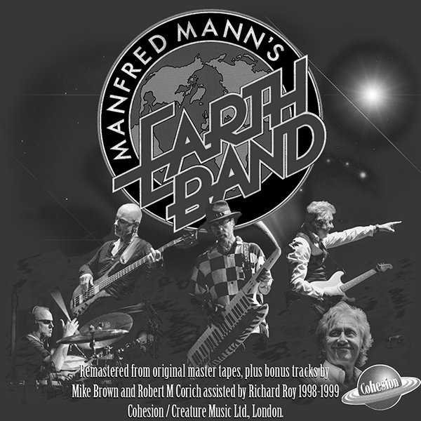 MANFRED MANN'S EARTH BAND «Discography» (17 x CD • Cohesion Limited • 1969-1993)
