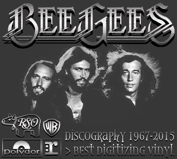 BEE GEES «Discography on vinyl» (19 x LP + EP • Albums + Solo • 1967-2015)
