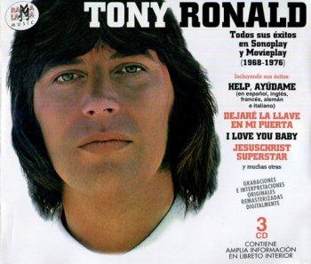 Tony Ronald - Todos Sus Exitos En Sonoplay Y Movieplay 1968-1976 [3CD Remastered Set] (2007)