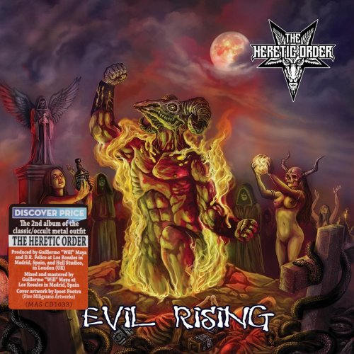 The Heretic Order - Evil Rising (2018)