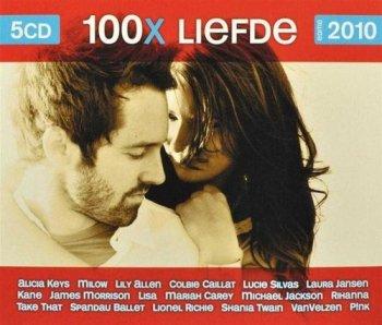VA - 100x Liefde - Editie 2010 [5CD Box Set] (2010)