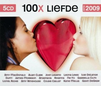 VA - 100x Liefde - Editie 2009 [5CD Box Set] (2009)