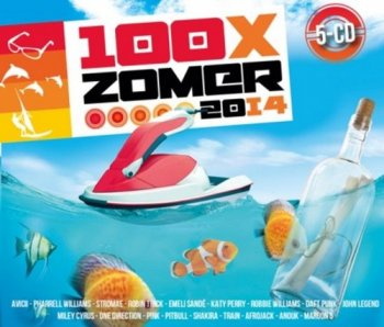 VA - 100x Zomer 2014 [5CD Box Set] (2014)