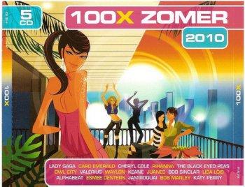 VA - 100x Zomer 2010 [5CD Box Set] (2010)