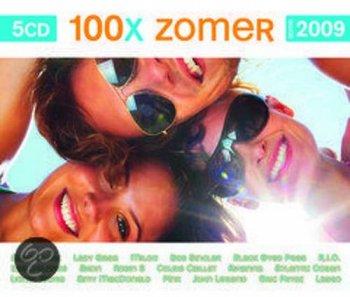 VA - 100x Zomer 2009 [5CD Box Set] (2009)
