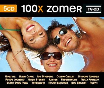VA - 100x Zomer [5CD Box Set] (2008)