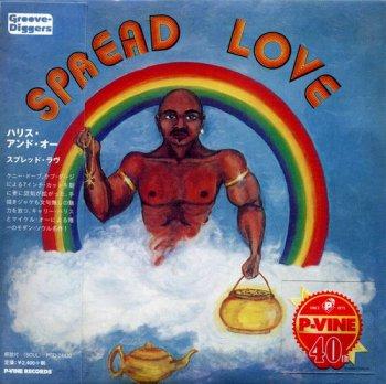 Carey Harris & Michael Orr - Spread Love 1976 [Japanese Remastered Edition] (2015)