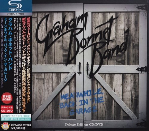 Graham Bonnet Band - Meanwhile, Back In The Garage [CD+DVD] [Japanese Edition] (2018)