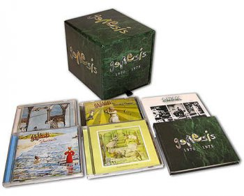 Genesis - 1970-1975 [7CD  Remastered Box Set, US Release] (2008)