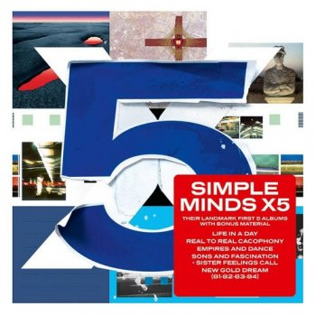 Simple Minds - X5 [6CD Remastered Box Set] (2012)