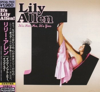 Lily Allen - It's Not Me, It's You (Japan Edition) (2009)