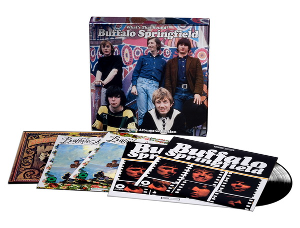 Buffalo Springfield: 2018 What's That Sound? Complete Albums Collection - 5CD Box Set Rhino Records