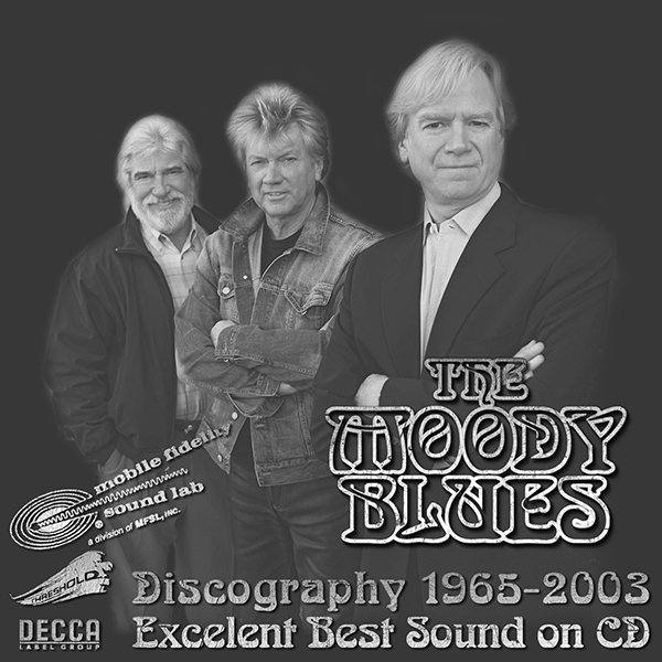 THE MOODY BLUES «Golden Discography» (19 x CD • Decca Records Ltd. • Issue 1983-2003)