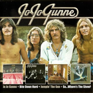 Jo Jo Gunne - Jo Jo Gunne / Bite Down Hard // Jumpin' The Gun / So... Where's The Show? [2 CD] (1972 / 1974)