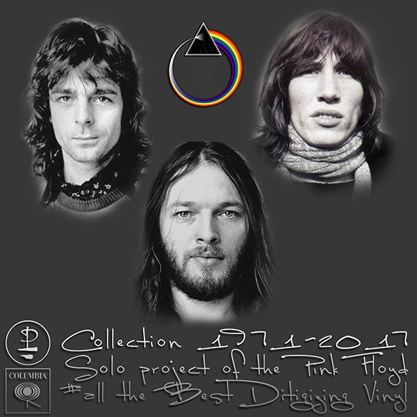 PINK FLOYD «Collection Solo albums on vinyl» (11 x LP • Pink Floyd Music Publishing Limited • 1971-2017)