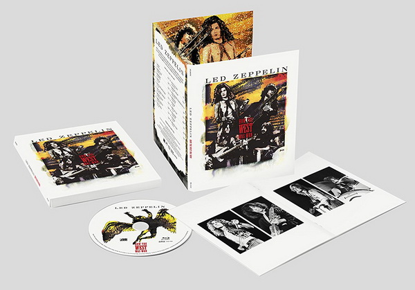 Led Zeppelin: 2018 How The West Was Won / 8-Disc Box Set + Blu-ray Audio Atlantic Records