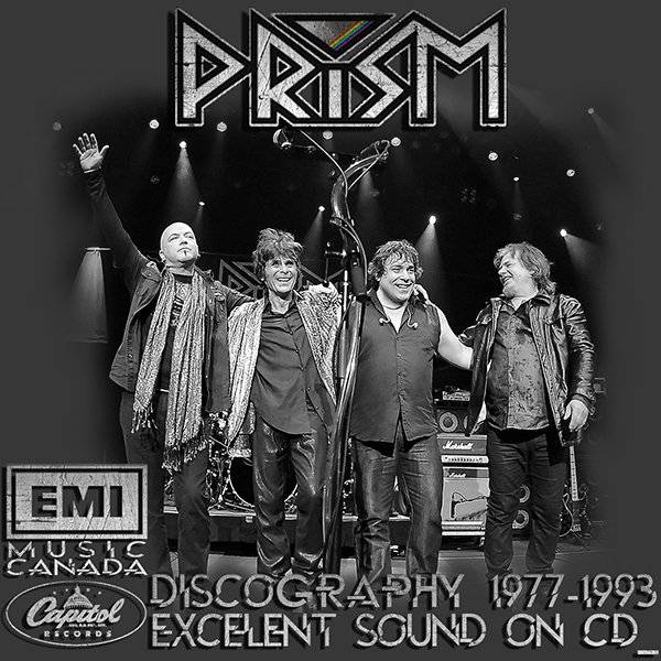 PRISM «Discography 1977-1993» (7 x CD • EMI Music Canada • Issue 1993-2004)
