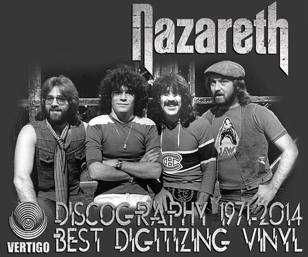 NAZARETH ?The BEST Digitizing Vinyl? (44 x LP ? 27 albums ⁄ 44 Issues ? 1971-2014)