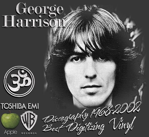 GEORGE HARRISON «Discography on vinyl» + bonus (14 x LP • Apple Records Limited • 1968-2002)