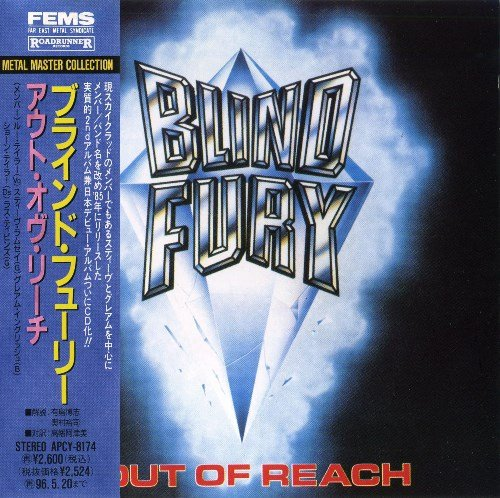 Blind Fury - Out Of Reach (1985) [Japan Press 1994]