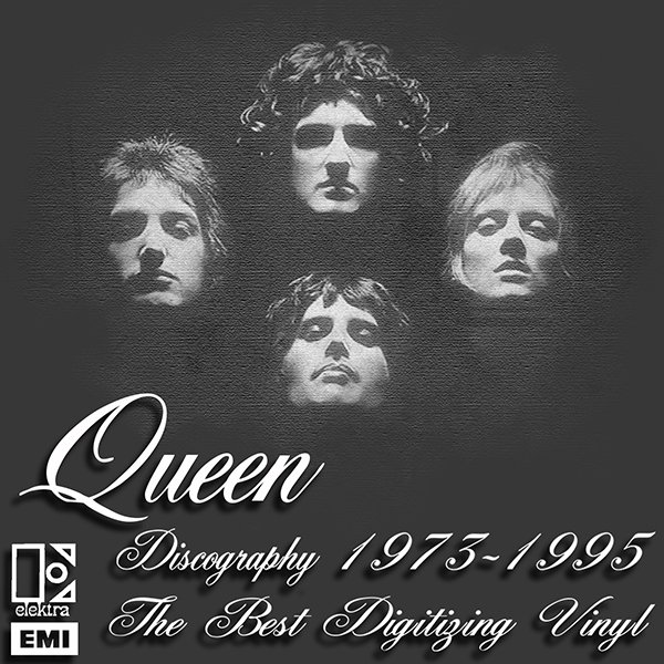 QUEEN «Discography on vinyl» (19 x LP + bonus • Queen Productions Limited • 1973-1995)