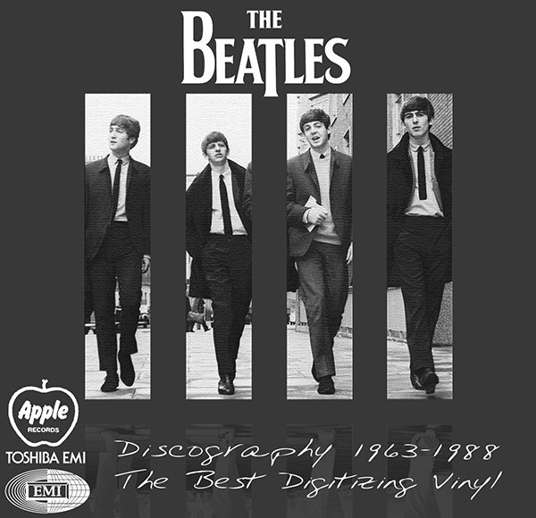 THE BEATLES «Discography on vinyl» (15 x LP • Apple ⁄ EMI Records Ltd. • 1963-1988)