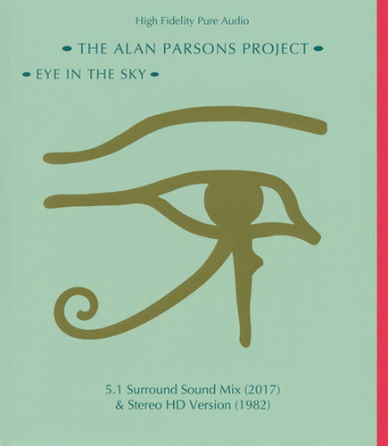 The Alan Parsons Project: 1982 Eye In The Sky / Blu-ray Arista Records 2018