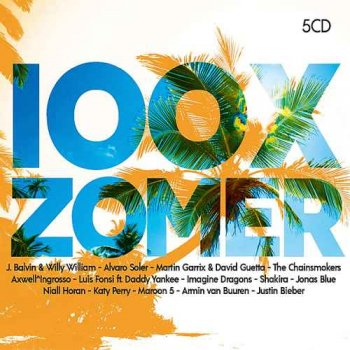 VA - 100x Zomer 2018 [5CD Box Set] (2018)