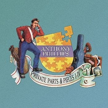 Anthony Phillips - Private Parts & Pieces I - IV [5CD Deluxe Remastered Edition Clamshell Box Set] (2015)