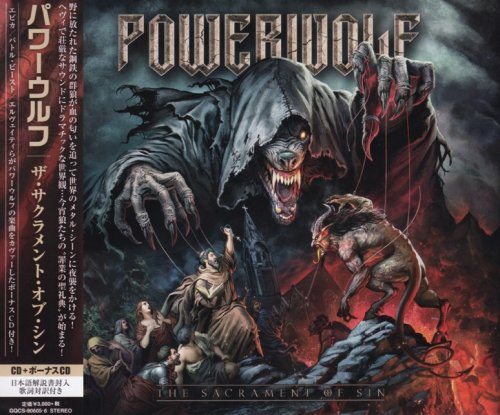 Powerwolf - The Sacrament Of Sin (2CD) [Japanese Edition] (2018)