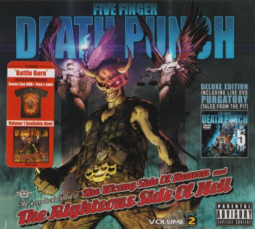 Five Finger Death Punch - The Wrong Side Of Heaven and The Righteous Side Of Hell [vol.2] (2013)