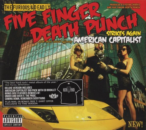 Five Finger Death Punch - American Capitalist [2CD] (2011)