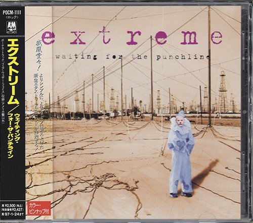 EXTREME «Discography» (7 x CD • A&M Records Limited • 1989-2010)