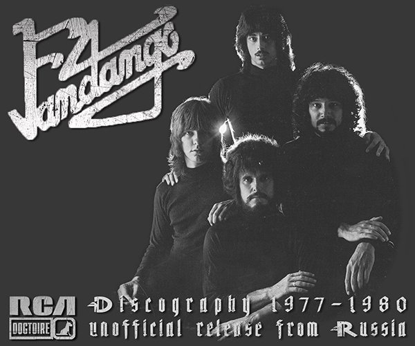 FANDANGO «Discography» (4 x CD • Dogtoire Records • 1977-1980)