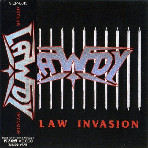 Lawdy - Outlaw Invasion (1990) [Japan Press+Remast. 2017]
