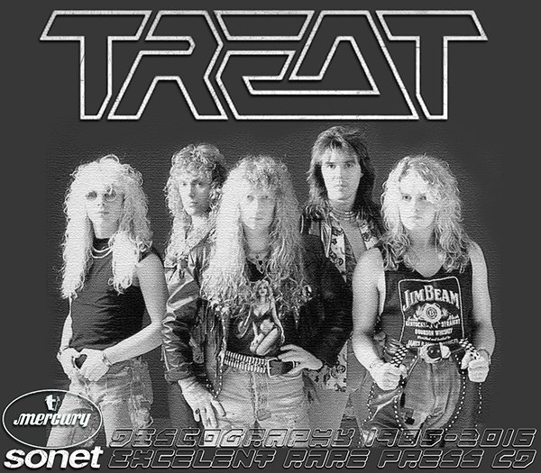 TREAT «Discography» (11 x CD • PolyGram Sweden Ltd. • 1985-2016)