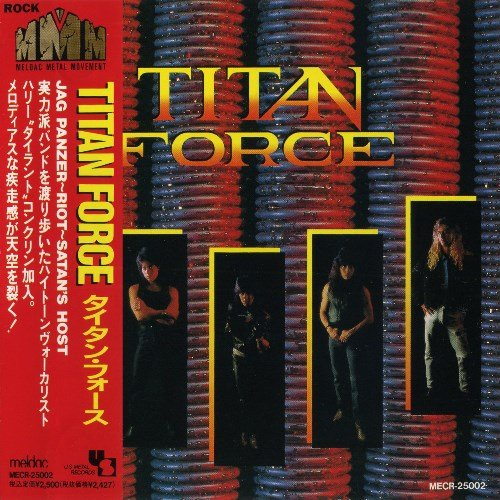 Titan Force - Titan Force (1989) [Japan Press 1991]