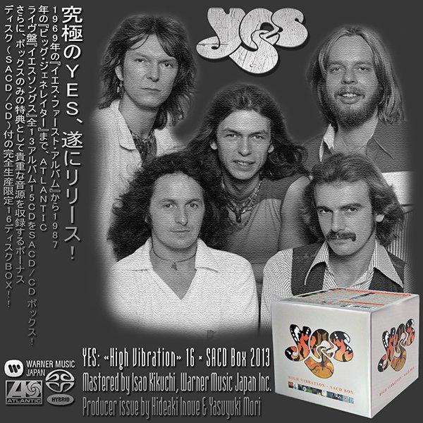 YES «High Vibration» SACD Box (16 x SACD • Atlantic Records Limited • 2013)