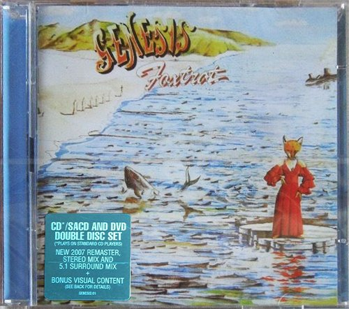 GENESIS «Discography 1970-1998» (18 × SACD • Charisma