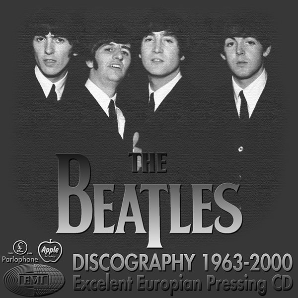 THE BEATLES «Discography» (28 x CD • Apple ⁄ EMI Records Limited • 1963-2000)