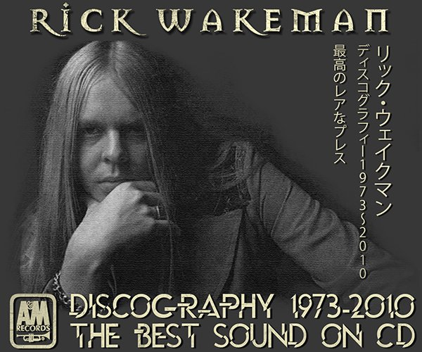 RICK WAKEMAN «Discography» (22 x CD • A&M Records Limited • 1973-2010)