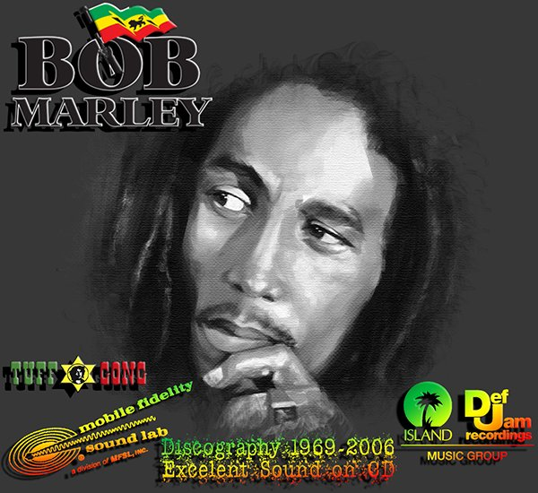 BOB MARLEY & THE WAILERS «Discography» (18 x CD • Tuff Gong Limited • 1969-2006)